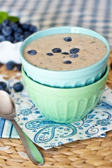 Blueberry Pancake Batter Smoothie | by Sonia! The Healthy Foodie