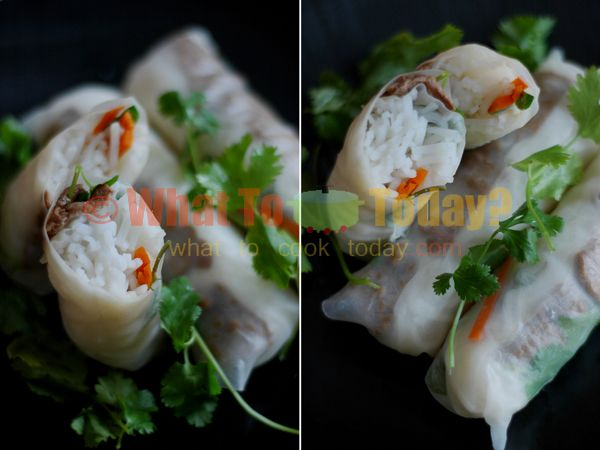 GOI CUON/ VIETNAMESE SPRING ROLL ( 12 spring rolls) | Recipe