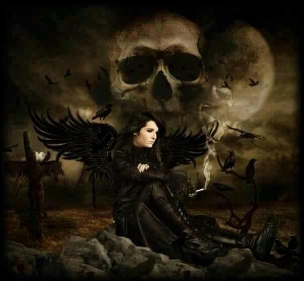 dark horror gothic angel - photo #41