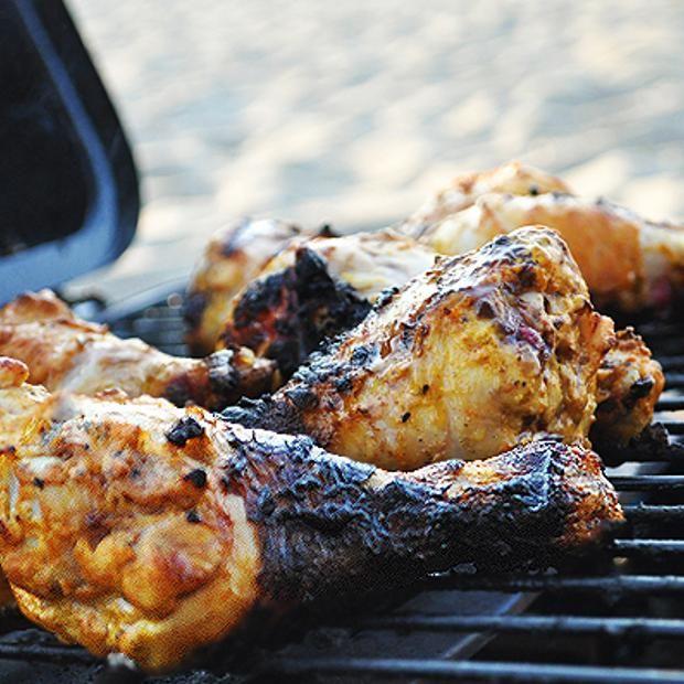 Yogurt-Marinated Grilled Chicken Recipe — Dishmaps