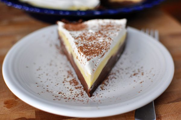 Black Bottom Pudding Pie | Mel's Kitchen Cafe