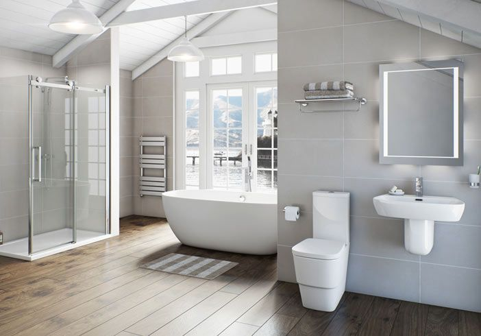 Comvictoria Plumb Bathrooms : Example bathroom from Victoria Plumb.  Bathroom  Pinterest