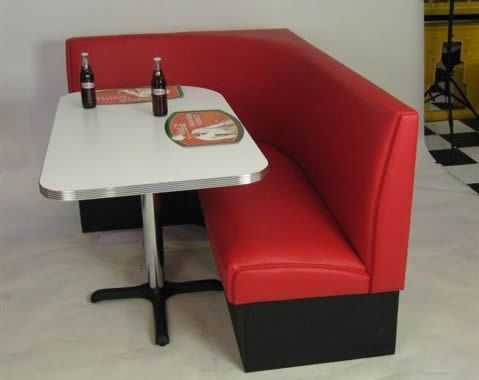 Art Deco L Shape Dining Nook Booth For The Home Pinterest