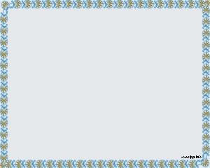 Marco para PowerPoint Plantilla con borde y fondo celeste claro