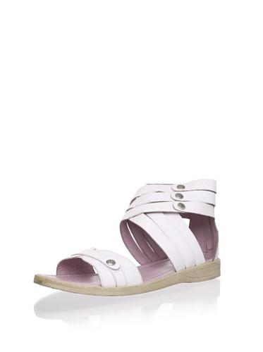 62% OFF Billowy Kid\'s Triple Strap Sandal (White)