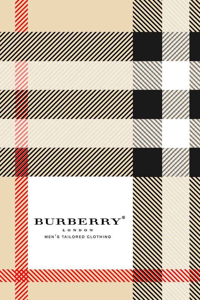 Logo #Brands #Burberry #Patterns Burberry | Hintergrundbilder für iP…