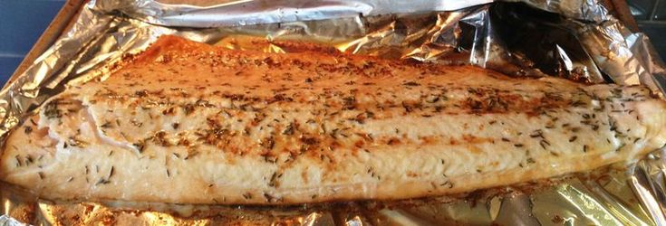Smiling Thyme-Butter Salmon | FOOD: recipes, dreams and ideas | Pinte ...