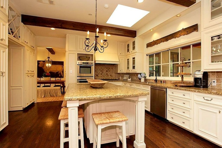 Long Thin Island With Seating Kitchen Inspiration Pinterest