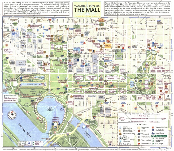 Good Map Of The National Mall  Washington DC  Pinterest