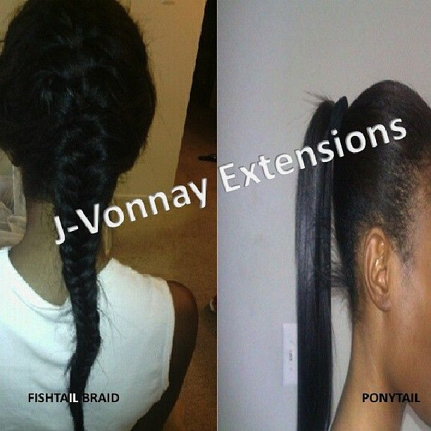 ... Fusion Extensions Can Be Styled In ANY Style (not sold in stores