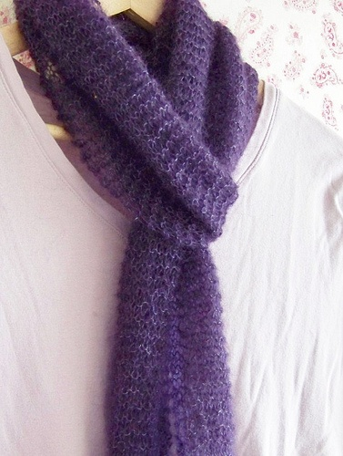 Free Mohair Knitting Patterns : mohair scarf - free pattern Addiction! Pinterest