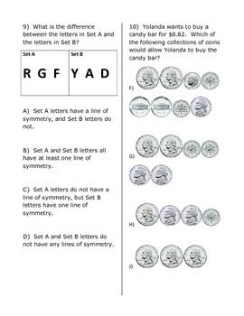 3rd Grade Math Practice Test