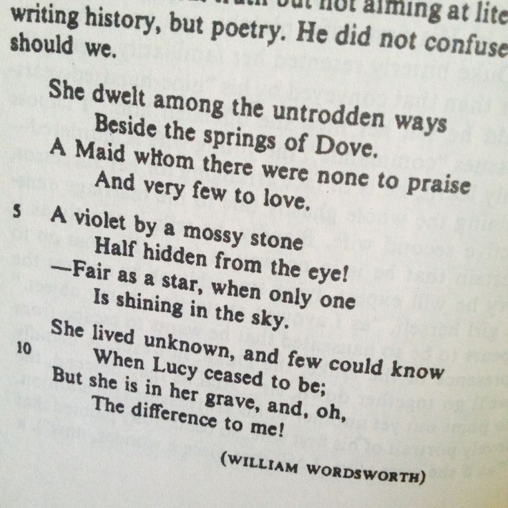 Essays wordsworth poems