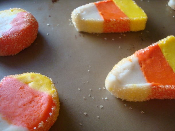Candy Corn Kaleidoscope Cookies | Holiday- Trick or Treat | Pinterest