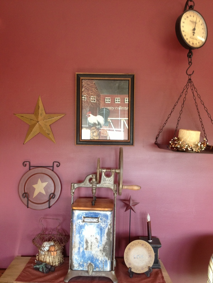 Primitive decorations. Country decorating ideas. www ...