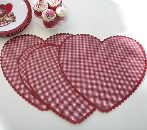 valentine's day placemats kohls