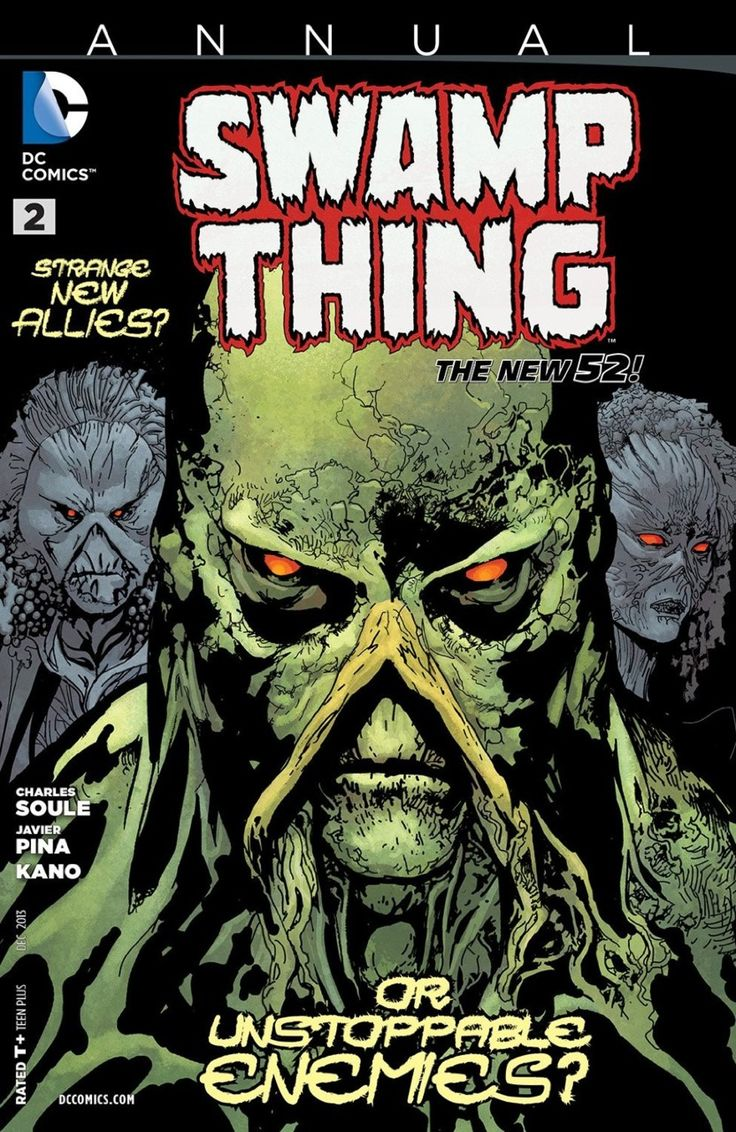 Swamp Thing Annual #2 - Lessons Learned released by DC Comics on ...