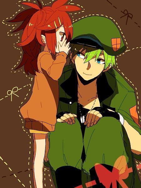 happy tree friends - valentine smoochie