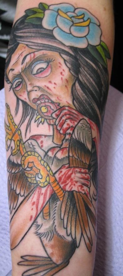 Tattoo by Justin Dion @ Anatomy Tattoo in Portland Oregon. www