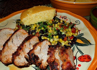 Melissa's Southern Style Kitchen: Grilled Spice Rubbed Pork Tenderloin