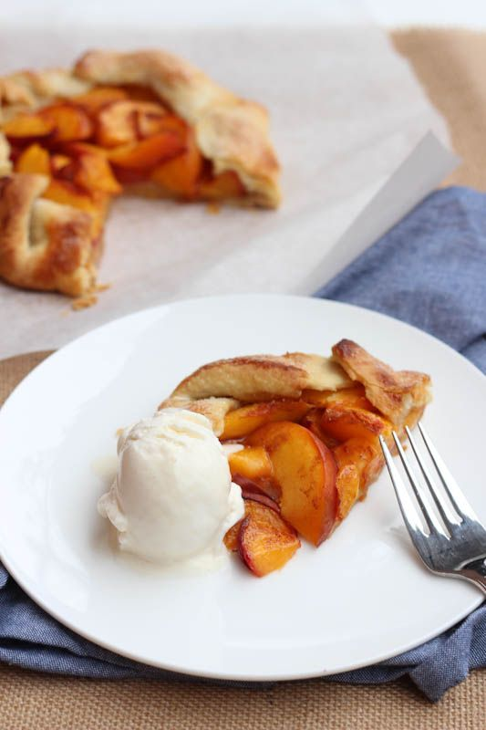 Peach Crostata. A great way to enjoy fresh peaches. Of course, a ...