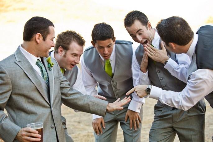 goofy groomsmen. danielle m.