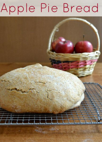 No-Knead Apple Pie Bread | Recipe