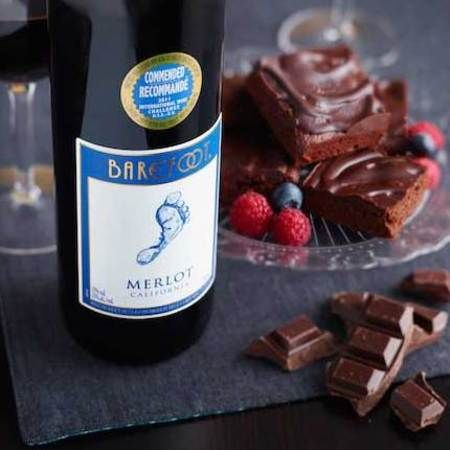 Easter Recipe: Red wine glazed chocolate brownies
