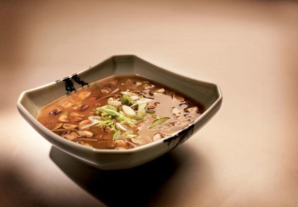 Double Mushroom Soup With Soba Noodles | Super Soups | Pinterest