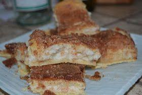 Cinnamon Cream Cheese Bars | yum | Pinterest