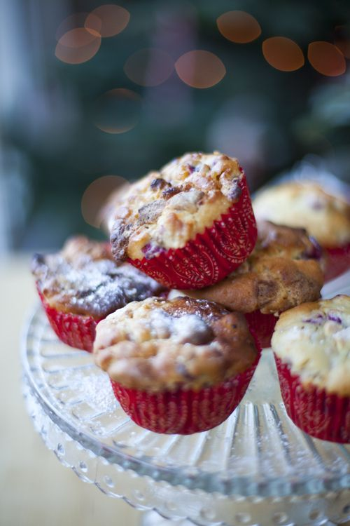 Cranberry and White Chocolate Muffins | Favorite Foods and Recipes I ...
