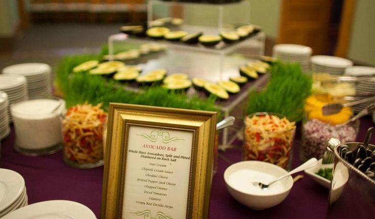 Avocado Bar – Gil's Elegant Catering | Work | Pinterest