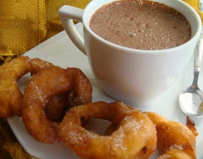Bunuelos De Rodilla (Mexican Christmas Fritters) Recipes — Dishmaps