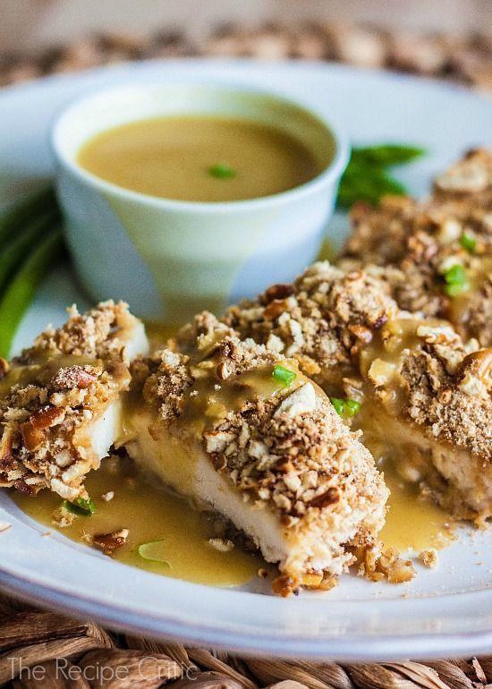 Honey Mustard Pretzel Chicken   recipes   Pinterest