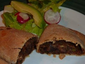 Black Bean and Sweet Potato Empanadas