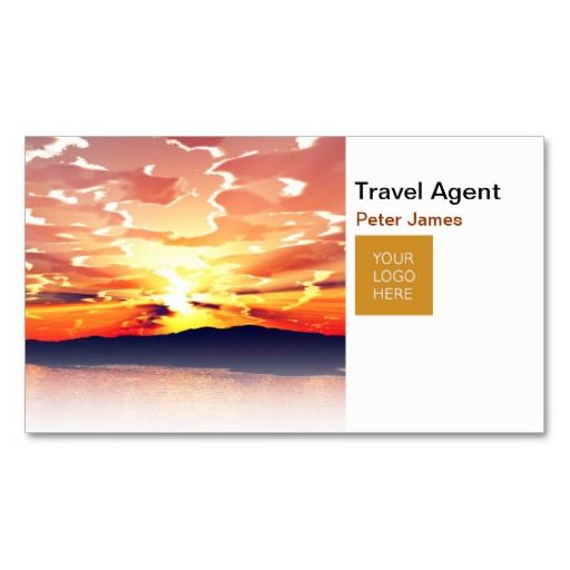 Travel Agent Business Card Templates