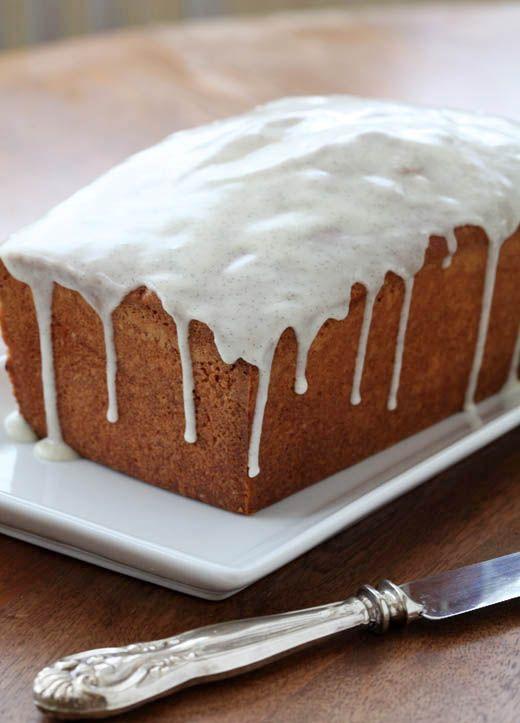 Vanilla Bean Pound Cake | // breakfast // | Pinterest