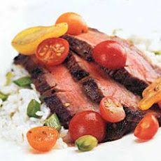 Grilled Spice-Rubbed Flank Steak | *GREAT RECIPES* | Pinterest