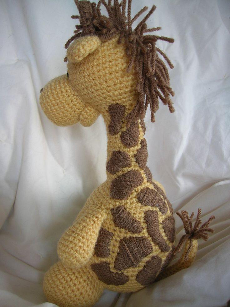 Girard the Giraffe - Amigurumi Crochet PATTERN ONLY (PDF). $3.50, via ...