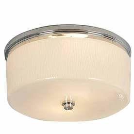 allen + roth 1.5-Sone 90 CFM Chrome Bathroom Fan with Light