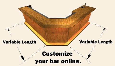 Custom home bar design tool basement remodel pinterest for Basement design tool