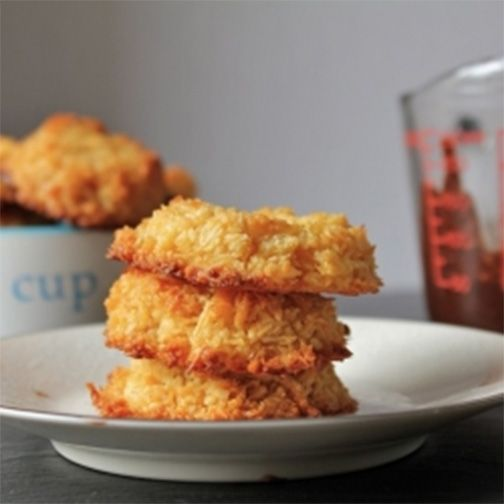 Paleo Coconut Macaroons | Gluten free | Pinterest