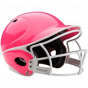 pink batting helmet for avery | life begins when the season does | Pi ...