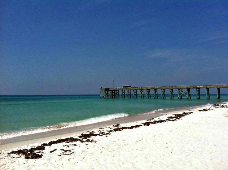 St andrews state park fishing pier panama city beach for Panama city fishing pier