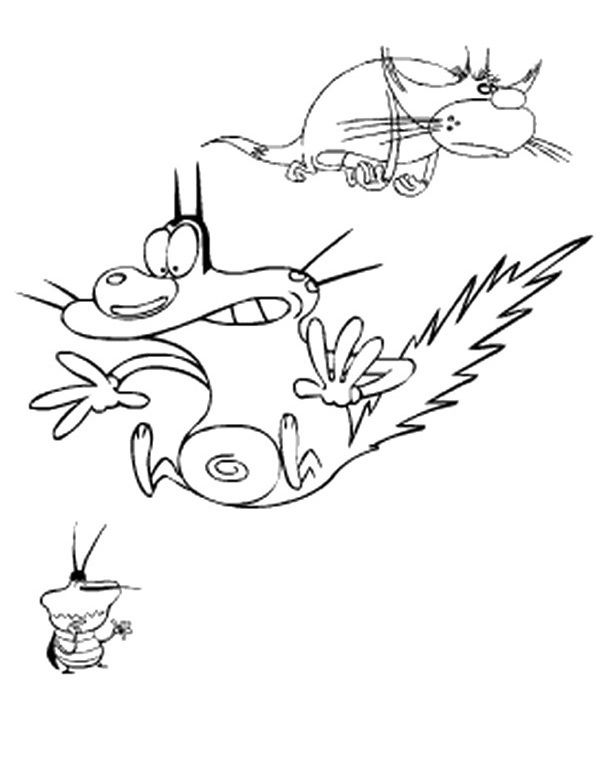 Zig and sharko drawing the image kid for Disegni da colorare zig e sharko