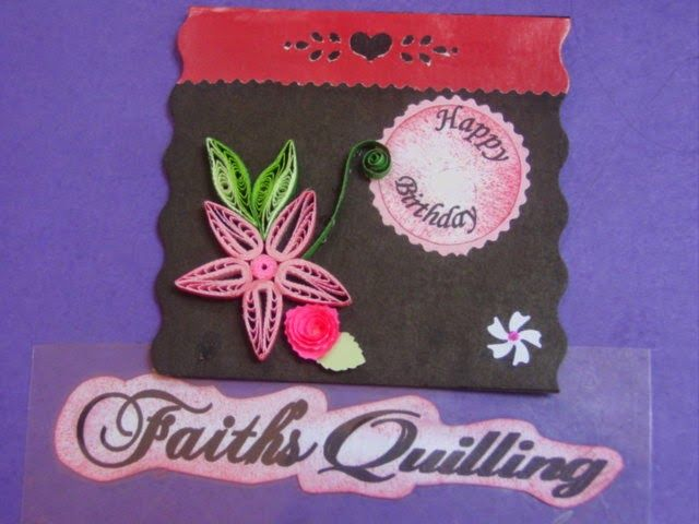 Faith's Quilling : Greeting Cards