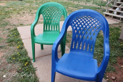 how to spray paint plastic patio chairs outdoor living pinterest