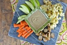 Almond & Bean Fondue {Vegan Slow Cooking for Two Review & Giveaway}