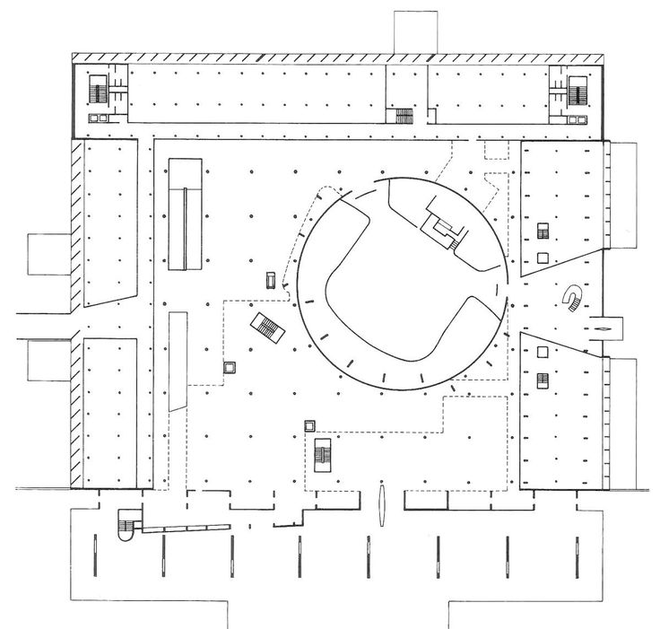 Assembly Building Plan Le Corbusier History Of
