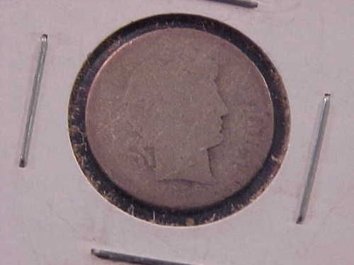 Barber Dime Key Dates : 1896 s Silver Barber Dime Key Date Great Collectors Coin LQQK eBay
